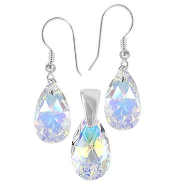 Set Aurora Boreala - Cristale Swarovski