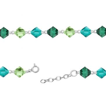 Bratara Oksana - Cristale Swarovski Xilion