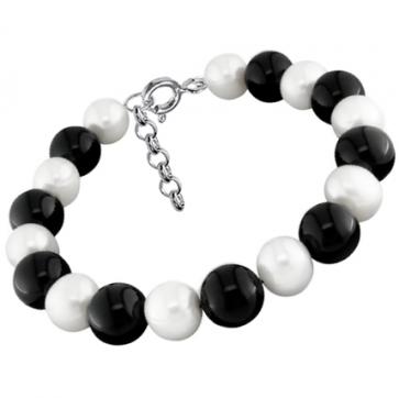Bratara Black & White