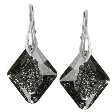 Cercei Growing Crystal Rhombus SN - Cristal Swarovski - Designer Edition IRIS VAN HERPEN