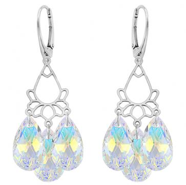 Cercei Candelabru - Cristale Swarovski AB