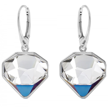 Cercei Diamante - Cristale Swarovski Bermuda Blue Designer Edition: Chris Bangle