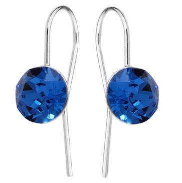Cercei Tasha Cristale Swarovski Xirius - Capri Blue