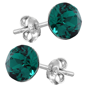 Cercei Xirius Emerald -  Cristale Swarovski