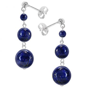 Cercei Blue Marine - Lapis Lazuli