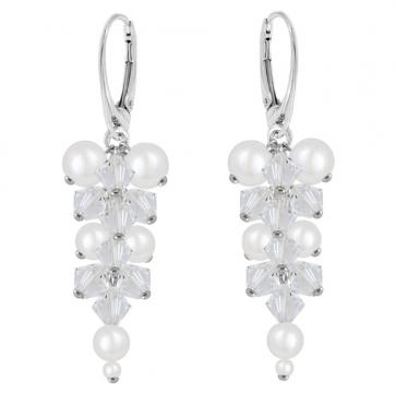 Cercei Aria - Perle & Cristale Swarovski