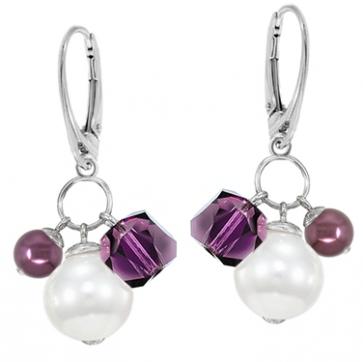 Cercei Brisa - Perle & Cristale Swarovski