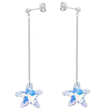 Cercei Stele de mare AB - Cristale Swarovski