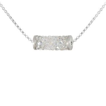 Colier Rocks Tube AB - Cristale Swarovski