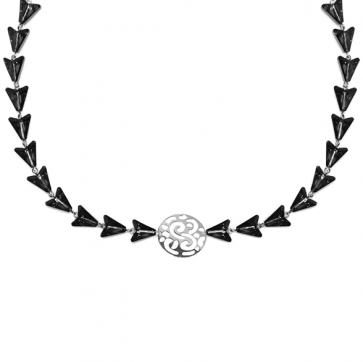 Colier Arrow - Cristale Swarovski