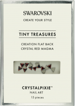 Cristale Swarovski - Crystal Pixie Tiny Treasures Flat Back Red Magma