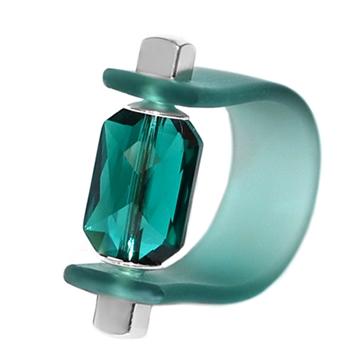 Inel Missi Concept - Cristal Swarovski Emerald Cut