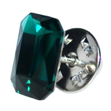 Insigna - Brosa - Cristal Swarovski - Emerald Cut