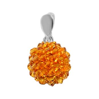 Pandantiv Goldy - Cristale Boemia