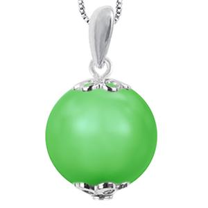 Pandantiv Neon Green - Perla Swarovski