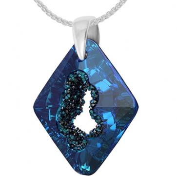 Pandantiv Growing Crystal Rhombus BB - Cristal Swarovski - Designer Edition IRIS VAN HERPEN