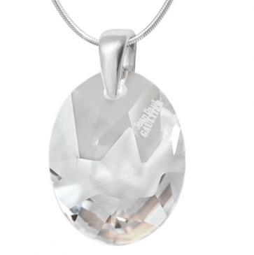 Pandantiv Oval Kaputt  - Cristal Swarovski Designer Edition Jean Paul Gaultier