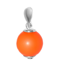 Pandantiv Orange - Perla Swarovski