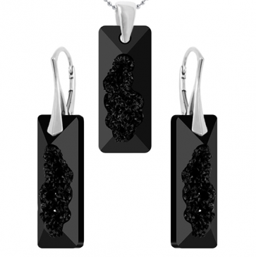 Set Growing Crystal Rectangle - Cristale Swarovski - Designer Edition