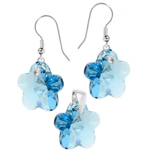 Set Flori Aquamarine