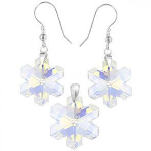 Set Fulgi de Nea - Cristale Swarovski