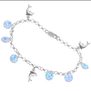 Bratara Aurora Boreala - Cristale Swarovski