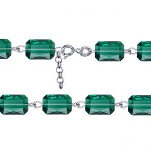 Bratara Emerald Cut - Cristale Swarovski