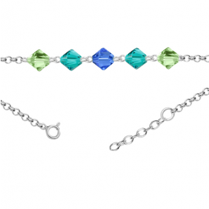 Bratara pentru Glezna - Cristale Swarovski Xilion