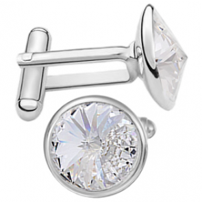 Butoni Crystal Clear - Cristale Swarovski Rivoli