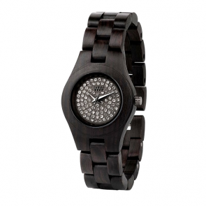 Ceas Moon Crystal Black