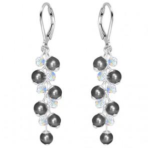 Cercei Alida - Perle & Cristale Swarovski