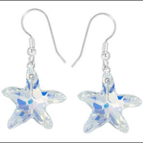 Cercei Stele de Mare - Cristale Swarovski