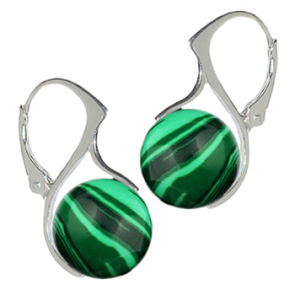 Cercei ''Green'' - Malachit