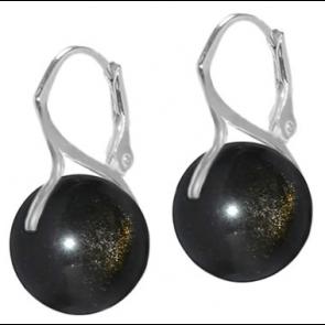 Cercei Obsidian Auriu