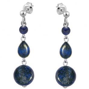 Cercei Erima - Lapis Lazuli