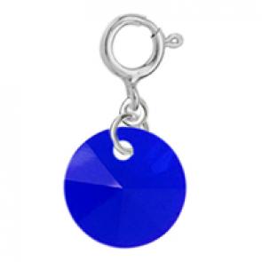 Charm Majestic Blue - Cristal Swarovski
