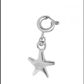 Charm Silver Starfish