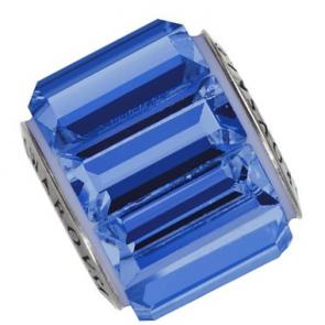 Charm Swarovski® Sapphire Blue