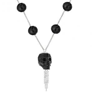 Colier Black - Onix & Cristal Swarovski