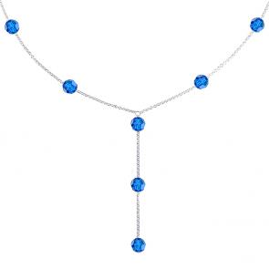 Colier Azul - Cristale Swarovski
