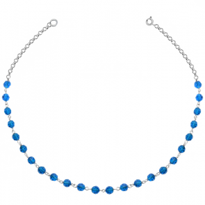 Colier Capri Blue - Cristale Swarovski