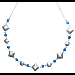 Colier Summer Blue - Cristale Swarovski