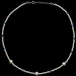 Colier - Perle & Cristale Swarovski