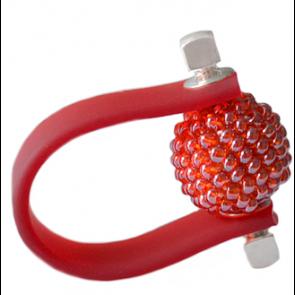 Inel Missi Concept - Red - Sticla Boemia