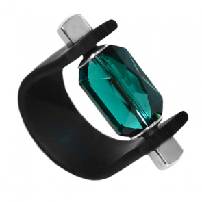 Inel Missi Concept Emerald Cut - Cristal Swarovski