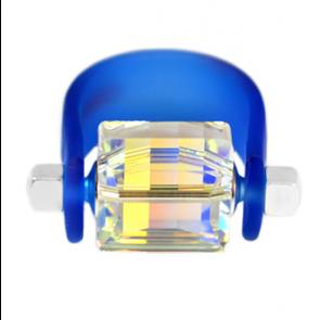 Inel Missi Concept - Blue - Cristal Swarovski