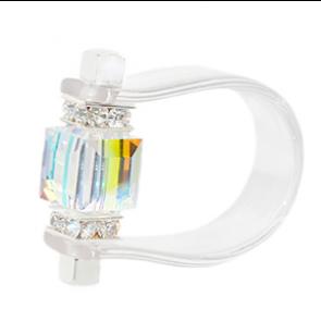 Inel Missi Concept - Clear - Cristal Swarovski