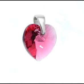 Inimioara cristal Swarovski