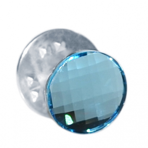 Insigna - Brosa - Cristal Swarovski - Aquamarine