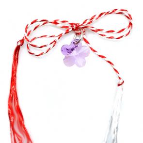 Martisor Eila - Floare Cristal Swarovski